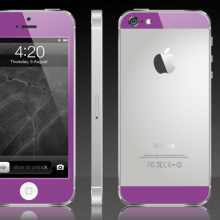 iPhone-5-Purple-and-White-Colour-Lab
